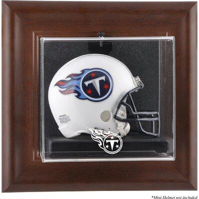 NFL Wall Mounted Logo Mini Helmet Case NFL Team: Tennessee Titans DISPVMTITA