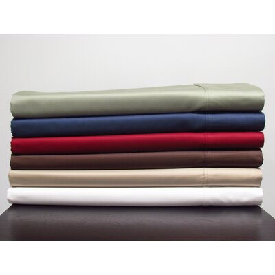 Lashbrook 620 Thread Count Egyptian Quality Cotton Sheet Set Size: Queen, Color: Sage