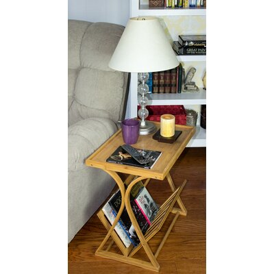 Chantay Bamboo Magazine Side Table