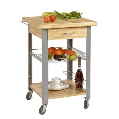 Rolling Storage and Organization Kitchen Cart