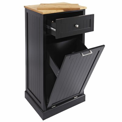 Microwave Cart Base Finish: Black