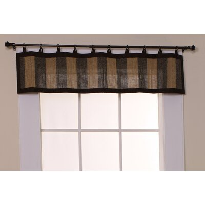 "Versailles Home Fashions Bamboo Ring Top 48"" Curtain Valance at Sears.com"