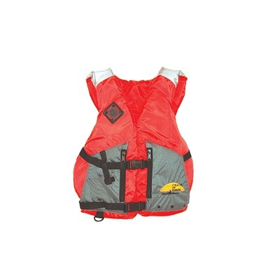 Image of COD Paddlesports LLC Deluxe Life XXL Adult Vest in Green / Grey (102-3051-XXLG)