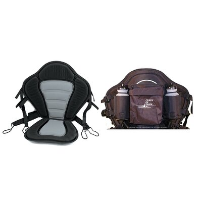 Buy Low Price COD Paddlesports LLC Apex 1 Seat with Bottle Bag (103-6-21B)