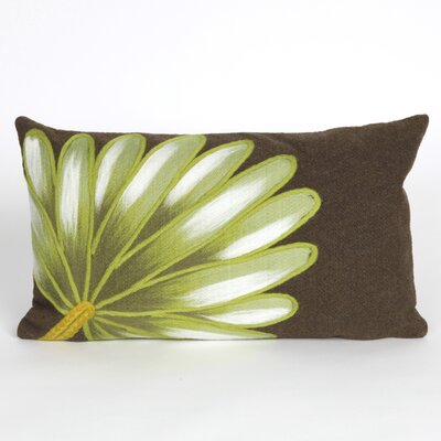Vedette Palm Fan Indoor/Outdoor Lumbar Pillow