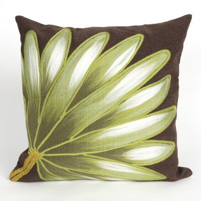 Vedette Palm Fan Indoor/Outdoor Throw Pillow