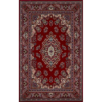 Bartolome Red Area Rug