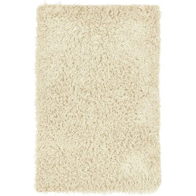 Bali Hand-Woven Ivory Indoor/Outdoor Area Rug Rug Size: 36 x 56