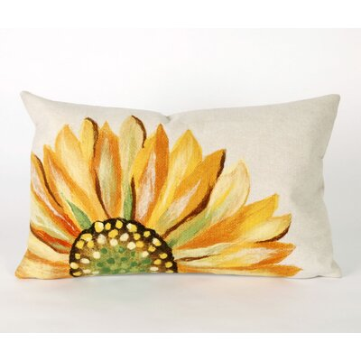 Keisha Sunflower Outdoor Lumbar Pillow
