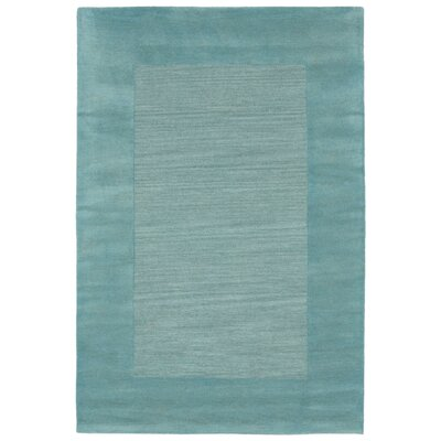 Mercer Hand Woven Wool Blue Area Rug Rug Size: Rectangle 9 x 12