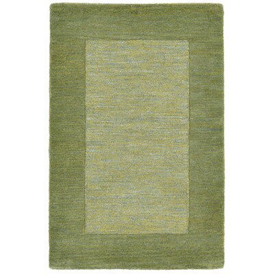 Mercer Hand-Tufted Green Area Rug Rug Size: 5 x 8