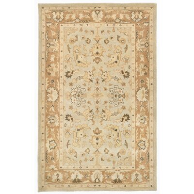 Eugenie Hand-Tufted Beige Area Rug Rug Size: 8 x 10