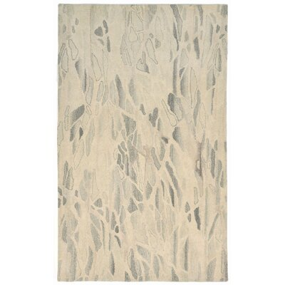Buckleys Hand-Tufted Gray Area Rug Rug Size: 5 x 8
