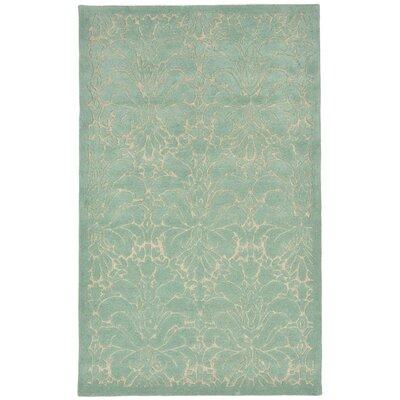 Tenorio Hand-Tufted Blue Area Rug Rug Size: 36 x 56