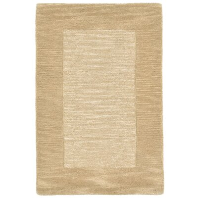 Mercer Hand-Tufted Natural Area Rug Rug Size: 2 x 3