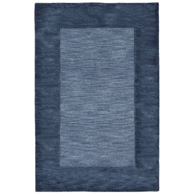 Mercer Hand Tufted Wool Blue Area Rug Rug Size: Rectangle 36 x 56