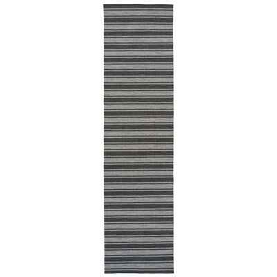 Melrose Gray Indoor/Outdoor Area Rug Rug Size: Runner 111 x 76