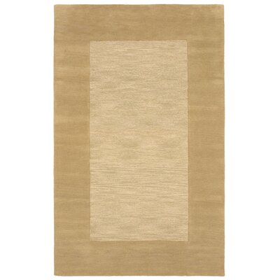 Mercer Hand-Tufted Natural Area Rug Rug Size: 36 x 56