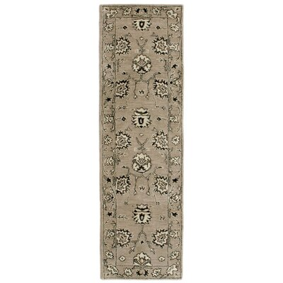 Eugenie Hand-Tufted Brown Area Rug Rug Size: Runner 23 x 8