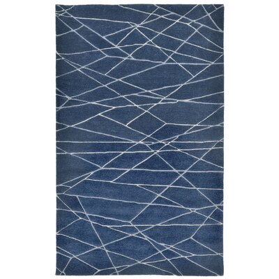 Brayden Studio Tenorio Hand-Tufted Blue Area Rug