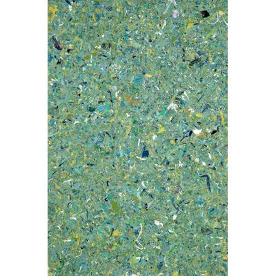 Chacko Green Indoor/Outdoor Area Rug Rug Size: 410 x 76