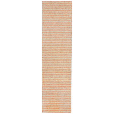 Bogard Hand-Tufted Orange Indoor/Outdoor Area Rug Rug Size: Runner 2 x 8