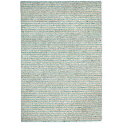 Bogard Hand-Tufted Aqua Indoor/Outdoor Area Rug Rug Size: 76 x 96