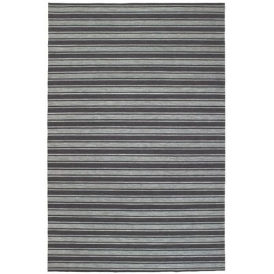 Melrose Gray Indoor/Outdoor Area Rug Rug Size: Rectangle 410 x 76