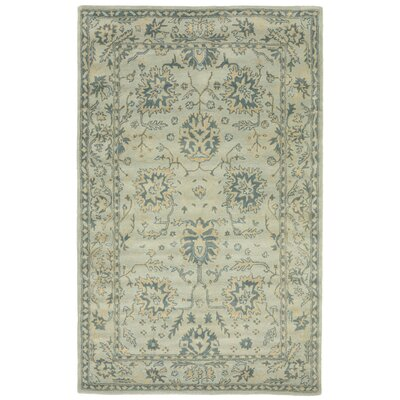 Eugenie Hand-Tufted Blue Area Rug Rug Size: 8 x 10