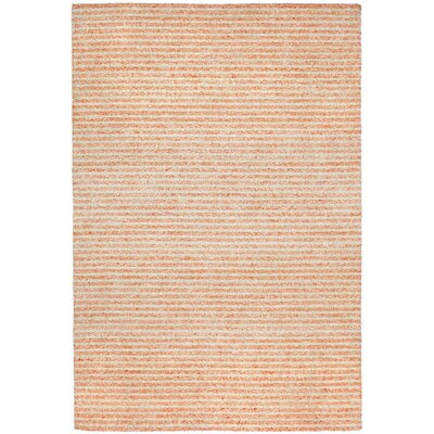 Bogard Hand-Tufted Orange Indoor/Outdoor Area Rug Rug Size: 83 x 116