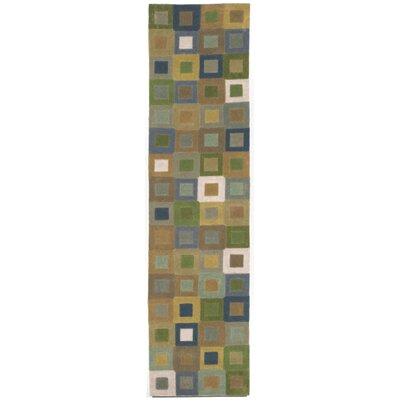 Adela Ocean Square Area Rug Rug Size: 36 x 56