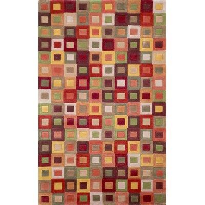 Adela Autumn Square Area Rug Rug Size: 36 x 56