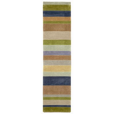 Lilly Stripes Area Rug Rug Size: Runner 2 x 8