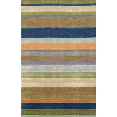 Lilly Stripes Area Rug Rug Size: 76 x 96