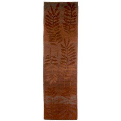 Karela Fern Saffron Area Rug Rug Size: Runner 22 x 710