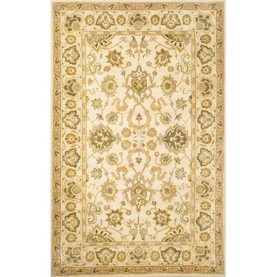 Petra Agra Ivory Rug Rug Size: 36 x 56