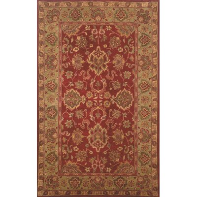 Petra Agra Red Rug Rug Size: 8 x 10