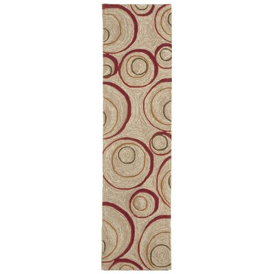 Nelda Red Indoor/Outdoor Rug Rug Size: Runner 2' x 8'