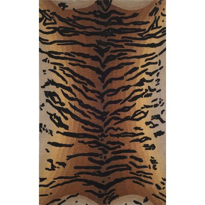 Bowdens Tiger Rug Rug Size: Rectangle 5 x 8