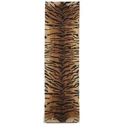 Bowdens Tiger Rug Rug Size: Runner 23 x 8