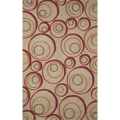 Nelda Red Indoor/Outdoor Rug Rug Size: 36 x 56