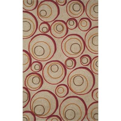 Nelda Red Indoor/Outdoor Rug Rug Size: 76 x 96