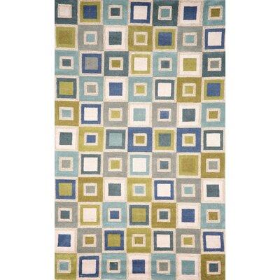 Nelda Big Squares Indoor/Outdoor Rug Rug Size: 83 x 116