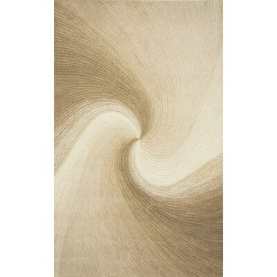 Richmond Sand Waves Area Rug Rug Size: 5 x 8