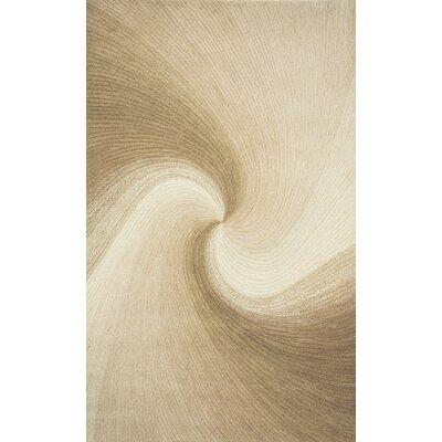 Richmond Sand Waves Area Rug Rug Size: 8 x 10