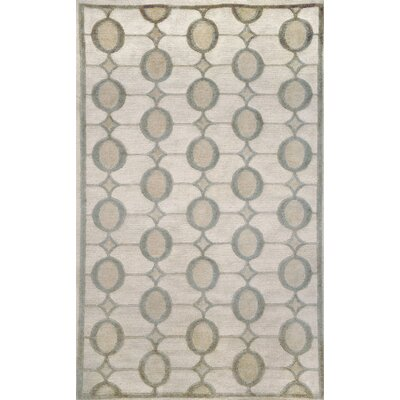 Palermo Ivory Neutral Arabesque Rug Rug Size: 5 x 8