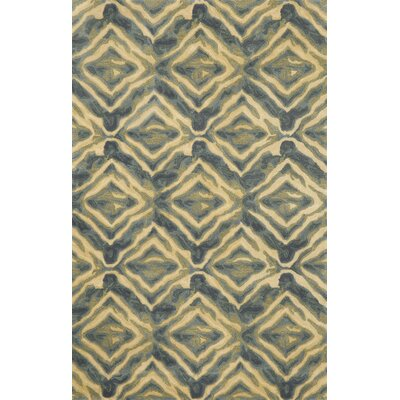 Terrill Blue Area Rug Rug Size: 8 x 10