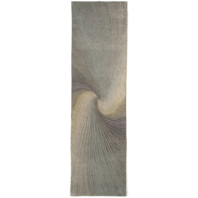Richmond River Gray Waves Area Rug Rug Size: 9 x 12