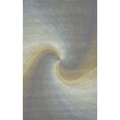 Richmond River Gray Waves Area Rug Rug Size: 36 x 56