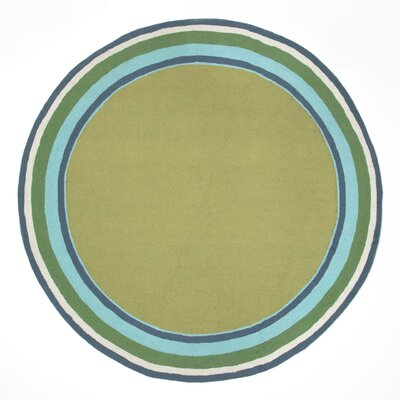 Bockman Border Sage Indoor/Outdoor Area Rug